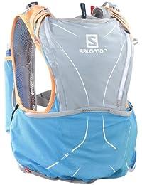 Salomon S-Lab Adv Skin Hydro 12 Set - Mochila de ciclismo, color Multicolor, talla  XL