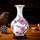 XDHN Jarrón Pequeño Ornamentos De Cerámica Decorada Decoración Arreglo De La Flor De La Sala,