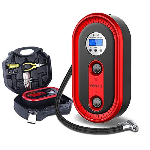 Digitalinfladorcoche neumáticos Incluido caja