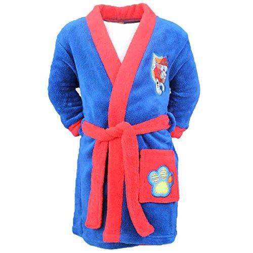 Robe de Chambre Peignoir pour enfant Pat Patrouille Paw Patrol - Bleu (8 ans)