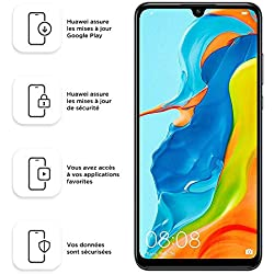 "Huawei P30 Lite Midnight Black 6.15"" 4gb/128gb Dual Sim"
