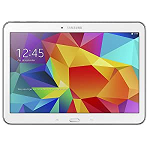 """Samsung Galaxy Tab 4 Tablette tactile 10"""" (25,40 cm) 4G Quad Core 1,2 GHz 16 Go Android Wi-Fi Blanc"""