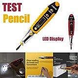 Gaddrt Voltage Test Pen Testina Elettronica Test Matita Digital Display Test Pen Ac Voltage Tester Volt Alert Pen Detector Sensor (Red)