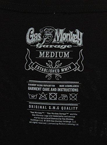 Gas Monkey Garage T-Shirt Hands Black-M