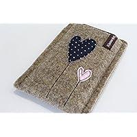 Handytasche - Handyhülle - Samsung Galaxy S8 Plus - aus hochwertigem Wollfilz - Schutz vor Kratzern & Schmutz