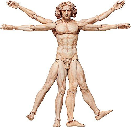 El Hombre de Vitruvio Figma Figura De Acción