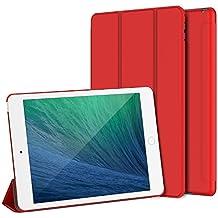 JETech iPad mini 4 Funda Carcasa Case con Stand Función y Auto-Sueño/Estela para Apple iPad mini 4 (Rojo)
