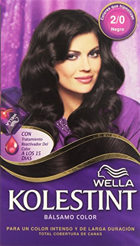 Wella Kolestint Bálsamo, color negro 2/0