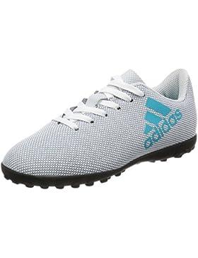 Adidas X 17.4 TF J, Botas de Fútbol Unisex Niños
