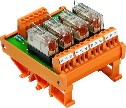 WEIDMULLER - RELE MULTIFUNCION RSM-4 R 24V