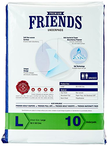 Friends Underpads Premium Large size