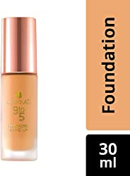 Lakme 9 to 5 Flawless Makeup Foundation, Shell, 30 ml