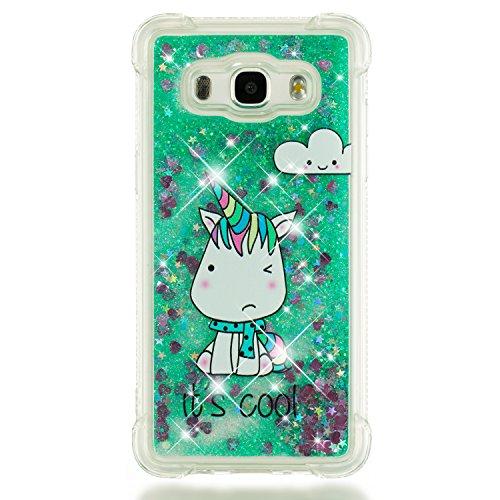 Lomogo Samsung Galaxy J5 2016 / J510 Hülle Silikon, Schutzhülle Stoßfest Kratzfest Handyhülle Case für Samsung Galaxy J5 (2016) - LOYBO39382#1