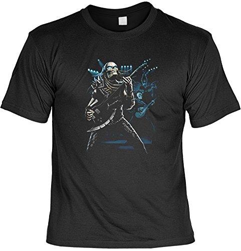 (Totonkopf Gitarre Musik Sense T-Shirt : Predator (Größe: S) -- T-Shirt bedruckt)