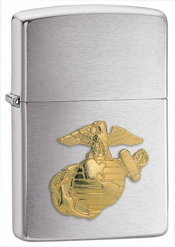 zippo-us-marines-emblem-lighter-brushed-chrome