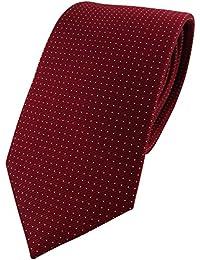 corbata estrecha TigerTie beige marfil champ/án monocromo Rips