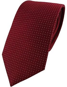 Cravatta in seta - bordò borgogn