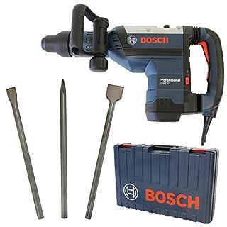Bosch SDS-max-Schlaghammer GSH 7 VC Professional 1500W + Bosch SDS-MAX Meisselset 3-tlg. Spitzmeißel 400mm, Flachmeißel 25x400mm und Spatmeißel 50x400mm