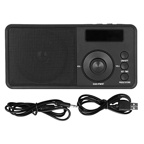 Pangding DAB +/DAB-UKW-Radio, tragbarer Bluetooth-Lautsprecher für Musik-Player