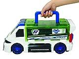 Majorette 212058188 - Race 'n Carry Van, Aufbewahrungsbox für 18 Die-Cast-Autos, 43cm