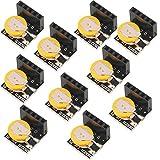 DaoRier DS3231 Real Time Clock RTC Modul IIC Präzision Echtzeituhr Module für Arduino Raspberry Pi, 10 Stück