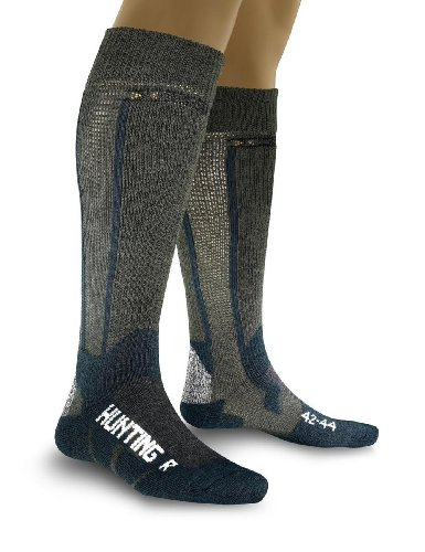 X-Socks respirantes hunting long 42/44 Multicolore - vert