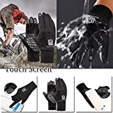 SEGRJ Full Finger Cycling Winter Breathable MTB Bike Bicycle Touch Screen Handschuhe