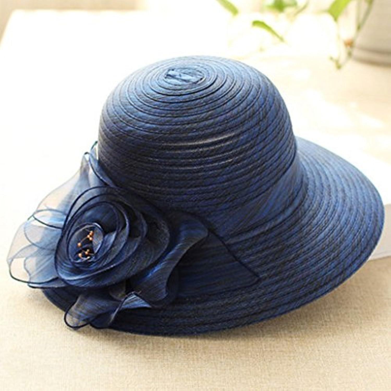 All aperto Cappello da Sole Donna Moda Cappello Prossoezione Solare UV UV  Solare Moda Wild 350363162a3f