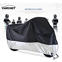 Funda para Moto – Cubierta Impermeable de Motocicleta 190T a Prueba de Polvo Protector UV con
