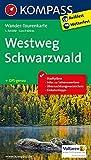 Westweg Schwarzwald: Wander-Tourenkarte. GPS-genau. 1:50000 (KOMPASS-Wander-Tourenkarten, Band 2505)