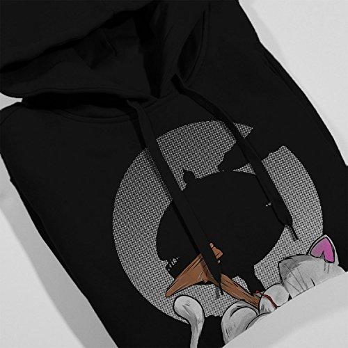 Korin Tower Dragon Ball Z Ball Of Wool Women's Hooded Sweatshirt Black