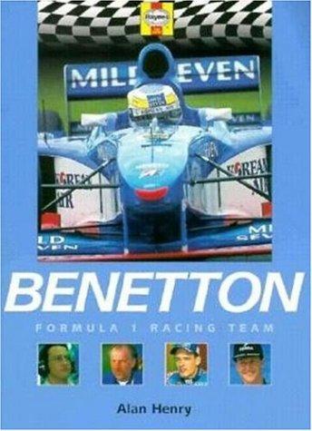 Benetton Formula 1 Racing Team (Formula 1 Teams) por David Tremayne