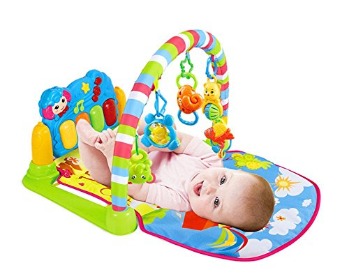 Baby Gym Actividad Musical Mat Gimnasio-piano Pataditas Educación Juguetes Inteligentes Infantil NiñOs ZYS , A