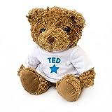 NUEVO - TED - Osito De Peluche - Adorable Lindo - Regalo Obsequio Cumpleaños
