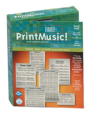Finale PrintMusic! Music Notation Software - Win/Mac