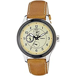Timex Analog Yellow Dial Men's Watch-TI000I70700
