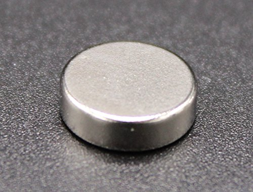 Preisvergleich Produktbild 50 Stück Neodym Magnete | für alle magnethaftenden Flächen z.B. im Büro, der Küche oder der Werkstatt | Pinnwand, Whiteboard, Magnettafel und Kühlschrank | starke Scheibenmagnete (50)