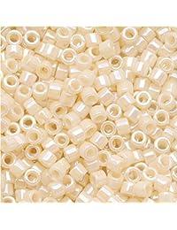 Miyuki Db-15711/0opaque Crème 7g Delica Graines de perle