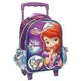 Disney Princesses Sac à Dos à roulettes Trolley Maternelle Princesse Sofia Licorne 31 CM - Cartable
