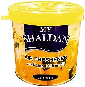 My Shaldan Lemon Car Air Freshener (Yellow, 80 g)