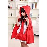 Las niñas Halloween Caperucita Roja Capa Capa de disfraz de libro de cuentos niño disfraz