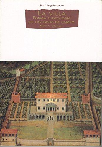La villa (Arquitectura) por James S. Ackerman