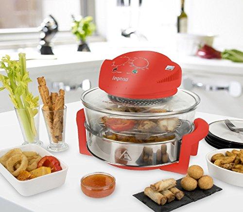 17-litre-legend-halogen-convection-oven-cooker-extender-ring-grill-roast-red