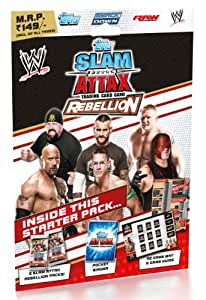 Topps WWE Icon India Icon Stickers Starter Pack, Multi Color