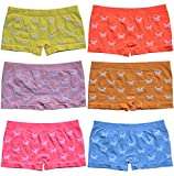 6er Pack sportliche Mädchen Pantys Hipster Shorts Greenice Gr. 98 - 164 (98-104)