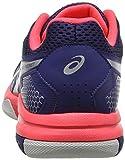 ASICS Women's Gel-Rocket 8 Volleyball Shoes, (Blue Print/Silver 400), 6.5 UK