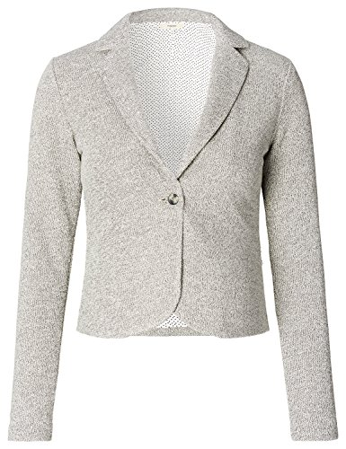 Noppies Damen Blazer Blazer Sweat Ls Alexa Grau (Grey Melange C246)