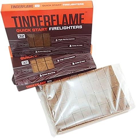 320 Fire Starter Lighters TinderFlame Firelighters Bulk Pack