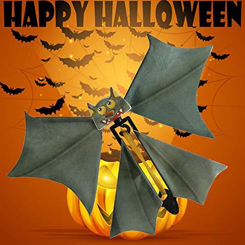 lustiges Spielzeug, ALIKEEY Fliegen-Schläger-Flattern-Karten-Streich Fliegen-Papier-Schläger-lustiges Halloween-Karten-Geschenk (Halloween Lustige Karten)