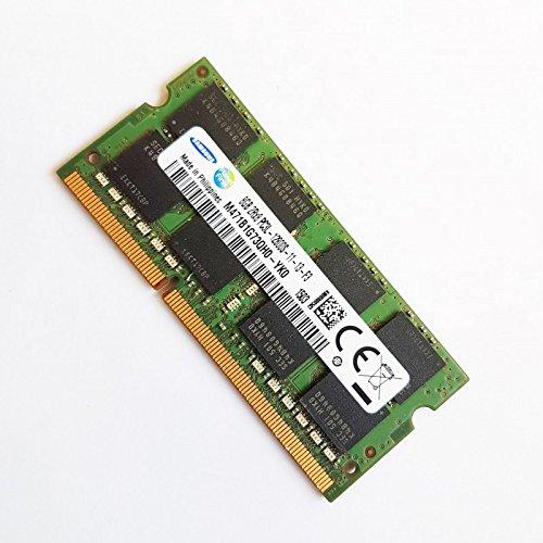 8GB RAM PC portátil SODIMM Samsung m471b1g73qh0-yk0PC3L-12800S 1600mhz DDR3